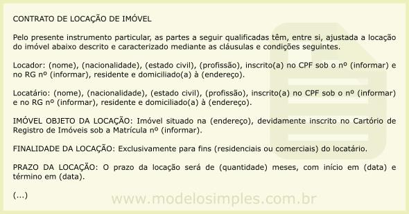 Modelo de Contrato de Locação de Imóvel com Seguro Fiança Locatícia b055d84cdd
