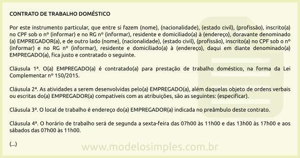 modelos de carta de recomendacao